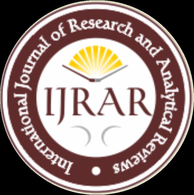 UGC CARE IJRAR(ISSN 2348 –1269, Print ISSN 2349-5138 ) | UGC